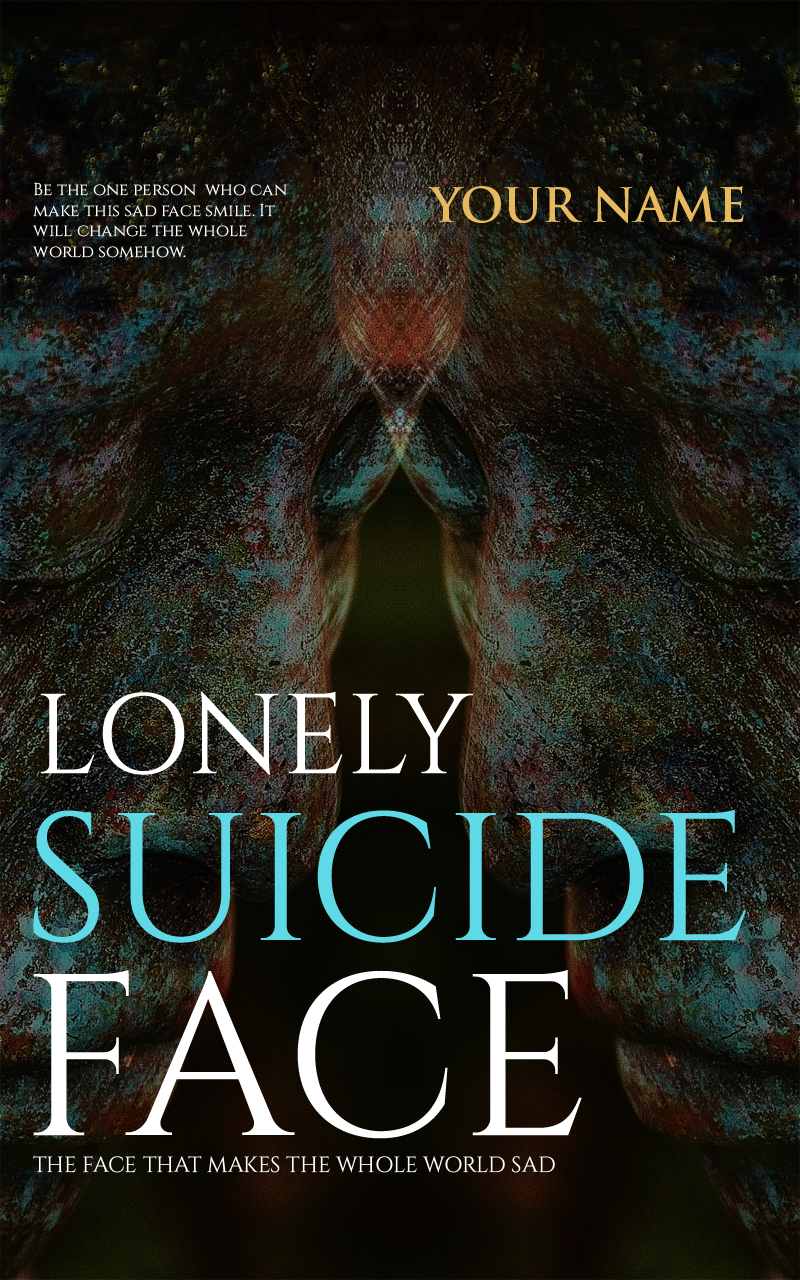 lonly suicide face